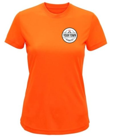 Classic Womens T-Shirt Orange
