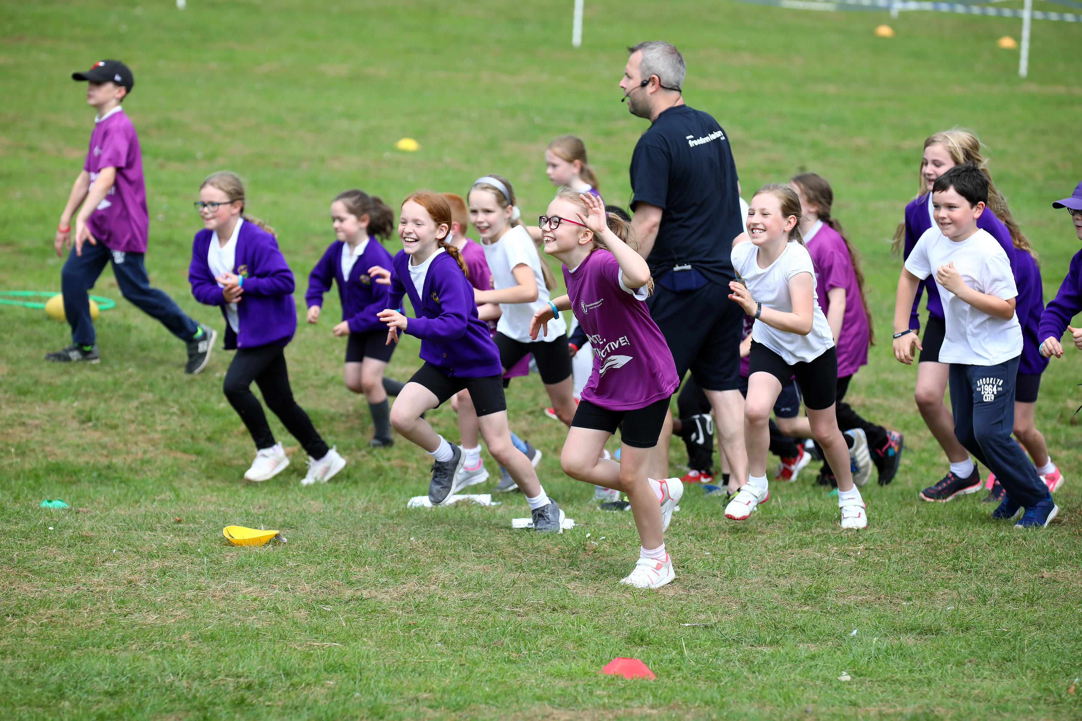 Children Running Event