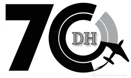 Hatfield 70th Anniversary Logo